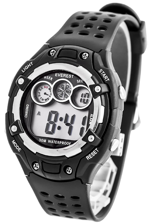 digitale everest armbanduhr f r kinder mit stoppuhr alarm licht nickelfrei ebay. Black Bedroom Furniture Sets. Home Design Ideas