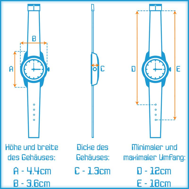 digitale xonix armbanduhr vielen funktionen wr100m nickelfrei damen kinder. Black Bedroom Furniture Sets. Home Design Ideas