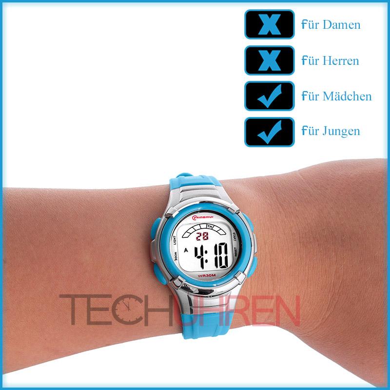 sportliche digitale mingrui armbanduhr damen kinder viele funktionen. Black Bedroom Furniture Sets. Home Design Ideas